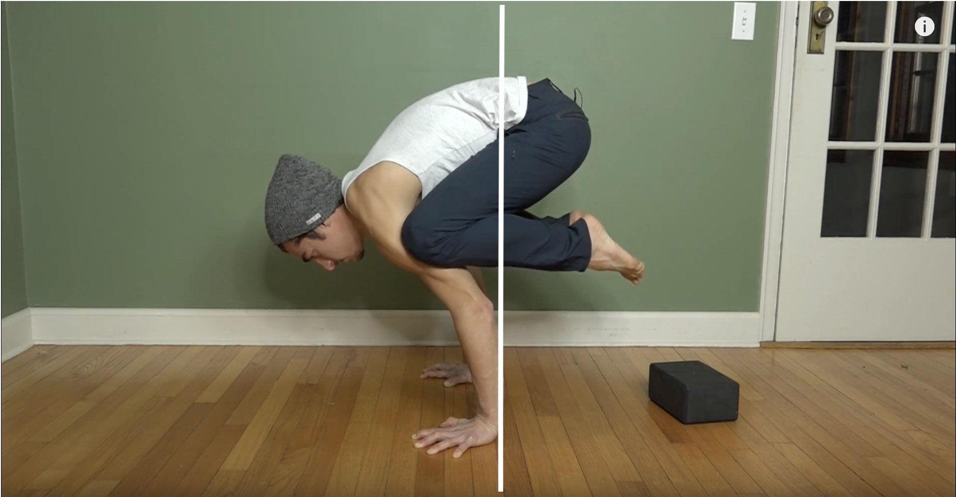 crow pose wrist strength and balance