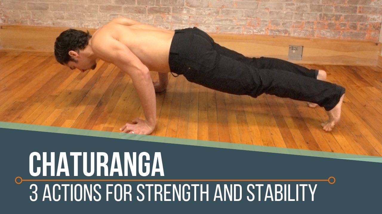 Chaturanga Alignment Part 1