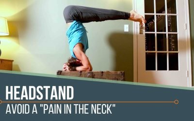 Headstand: Neck Relief