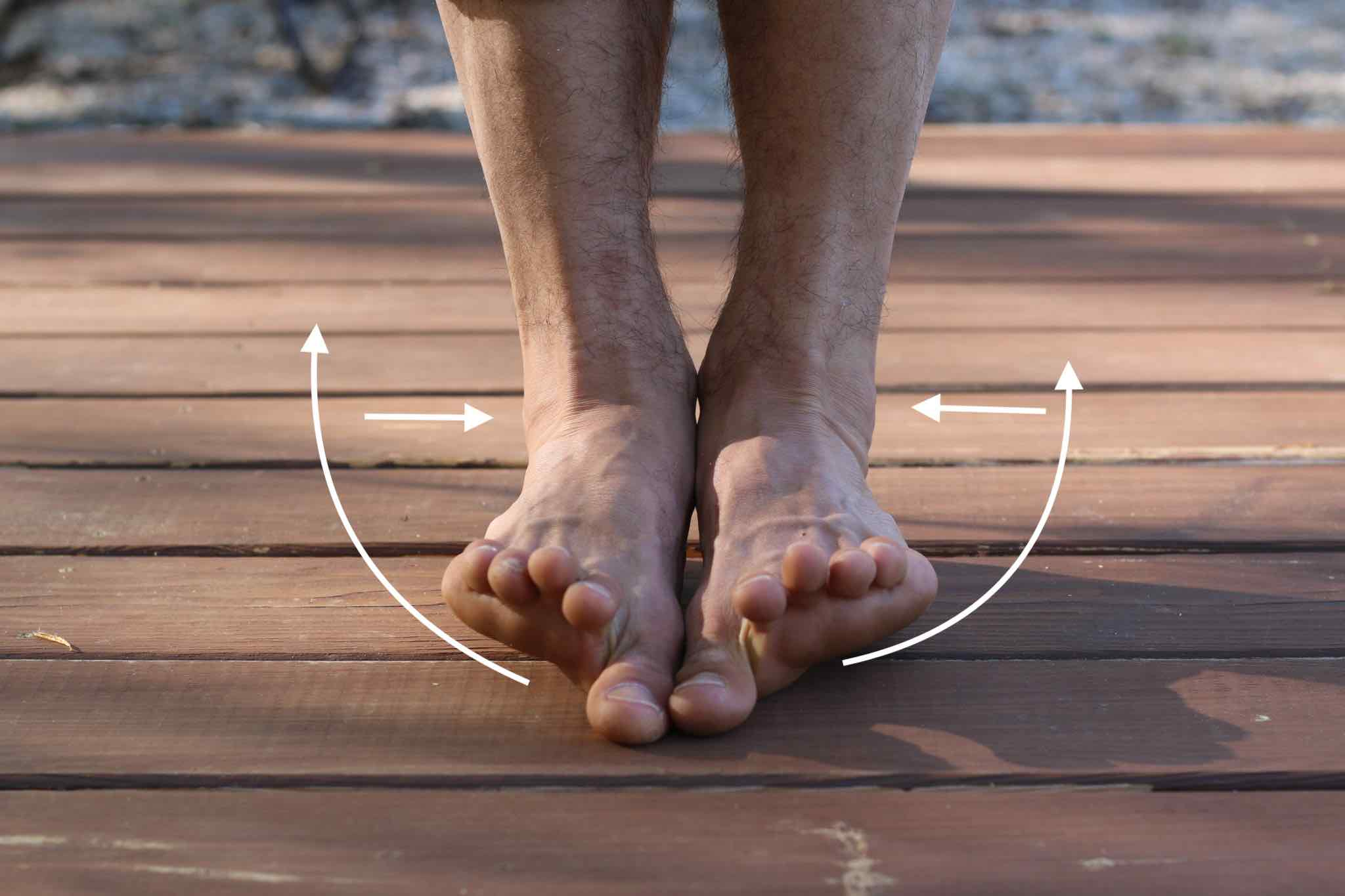 ankle strength, heal sprained ankle with yoga