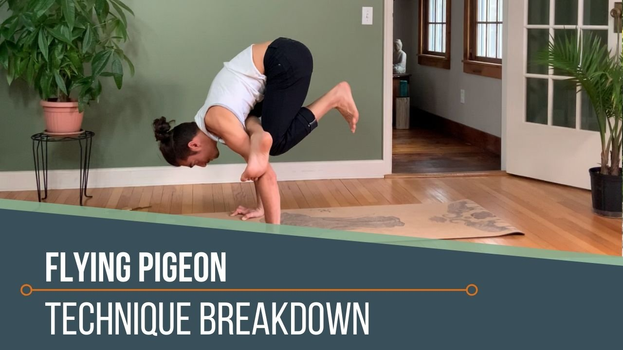 Flying Pigeon | Yoga Class | Flying Pigeon Pose | Matt ...