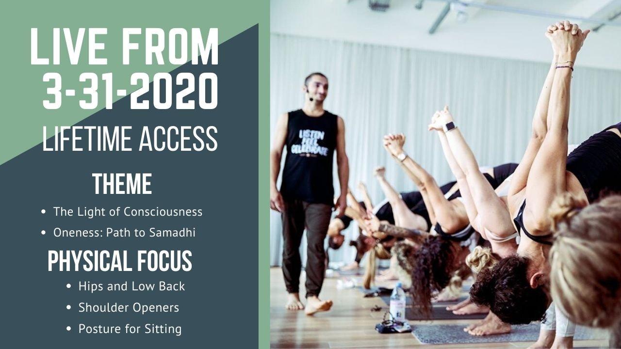 LIVE 3-31-2020 course image