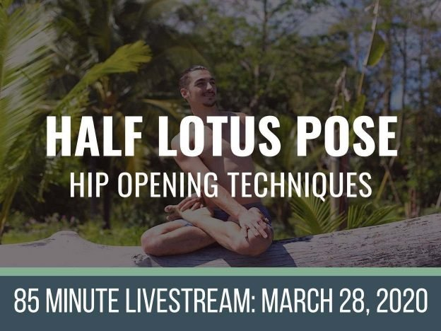 Half Lotus: LIVE 3-28-2020 course image