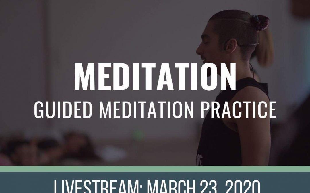 MEDITATE 3-23-2020