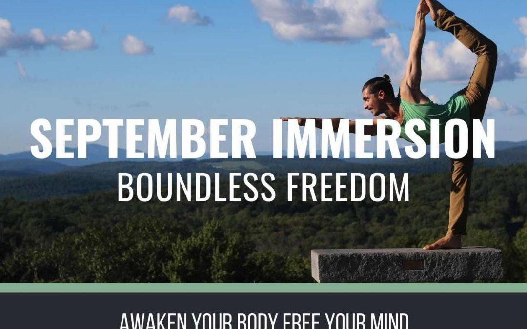 September Immersion
