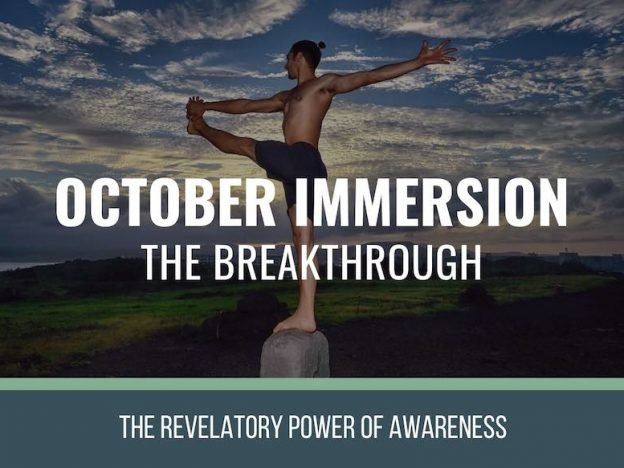 October Immersion course image