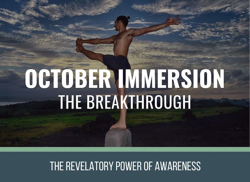 October Immersion