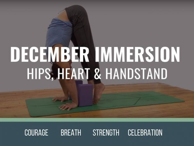 December Immersion course image