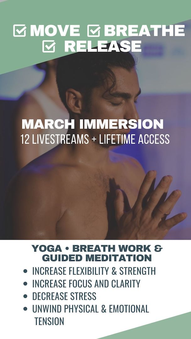 LIVESTREAM YOGA CLASSES FOR ALIGNMENT AND FLOW