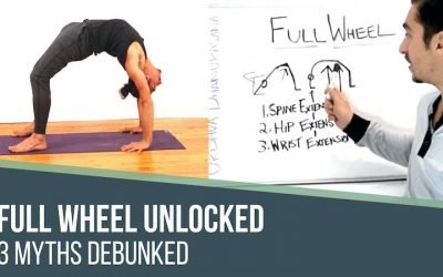 yoga pose alignment full wheel