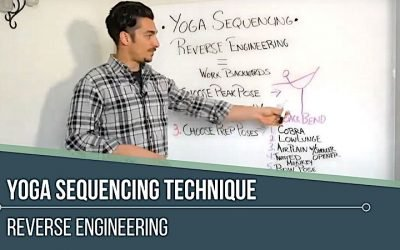 Yoga Sequencing: Teaching Technique Reverse Engineering