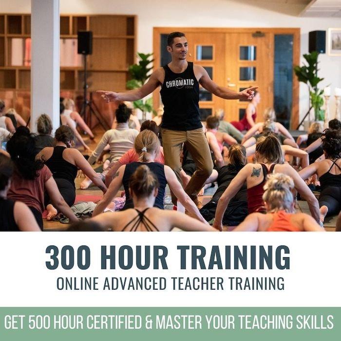 300 hour teacher training online