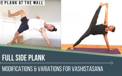 full side plank and modifications