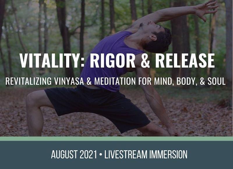 Vinyasa and Meditation Yoga Immersion