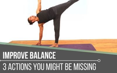 Improve You Balance in Standing Postures