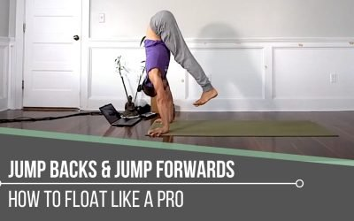 Yoga Jump Backs and Jump Forwards